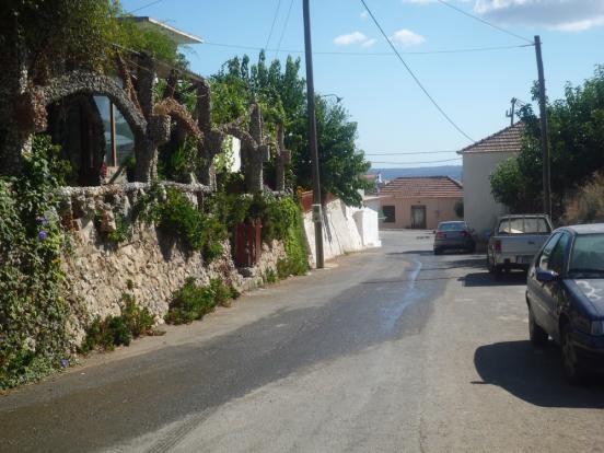 Taverna in village