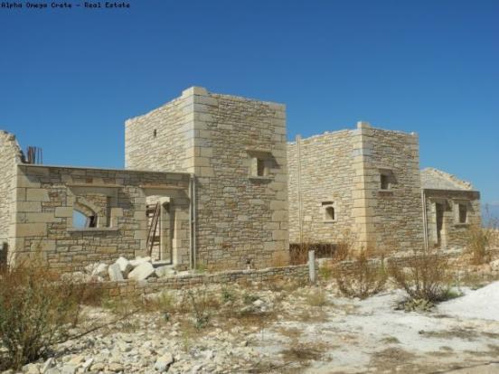 Two stone villas
