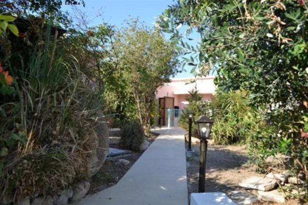 Garden path to house