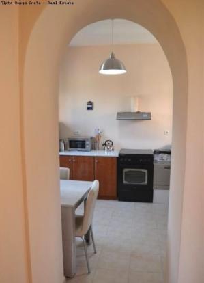 Arch thru to kitchen