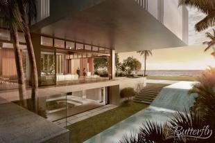 8 bed new home in Golden Beach...