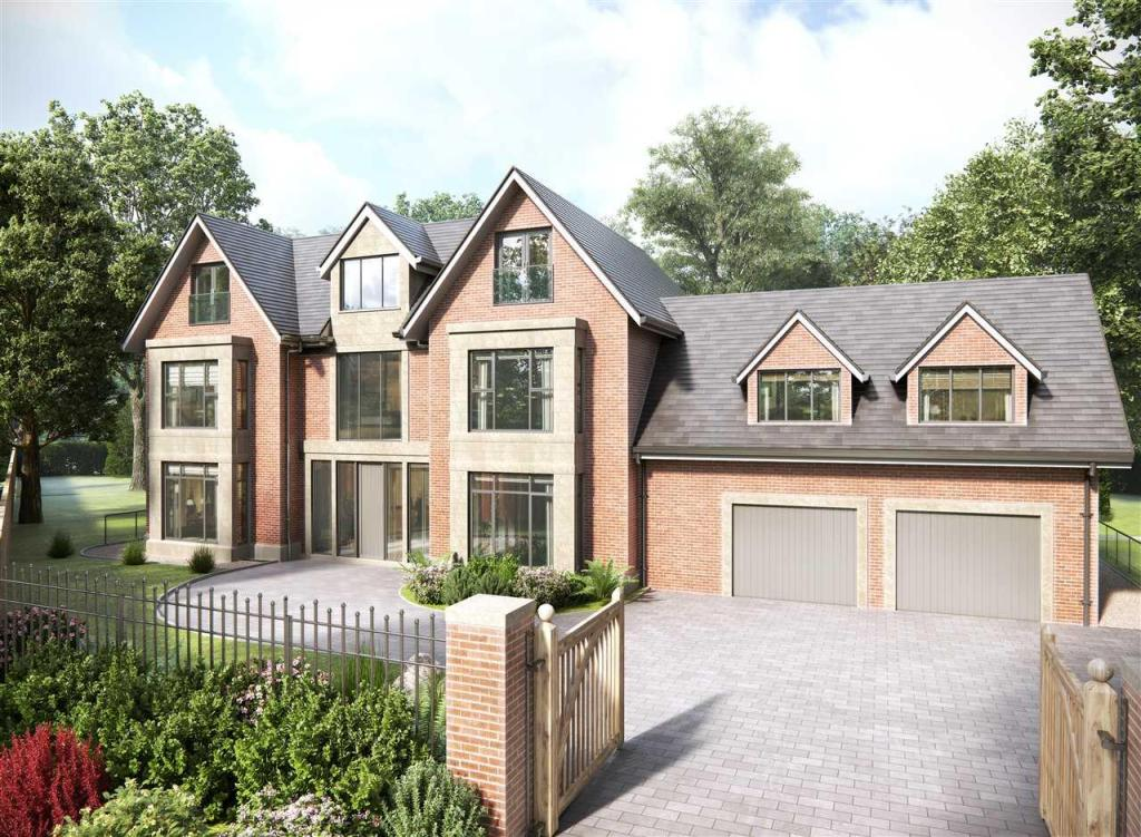 6 bedroom detached house for sale in old hall lane for New build 4 bed house