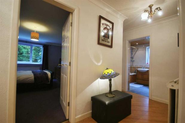 Reception Hallway to