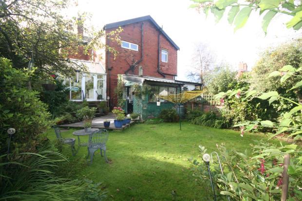 Rear External Garden