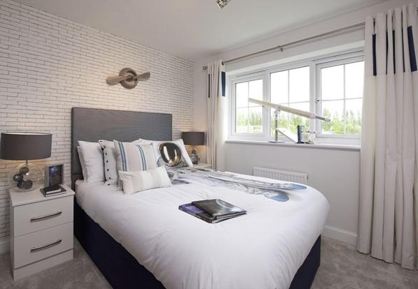 Guisborough double bedroom