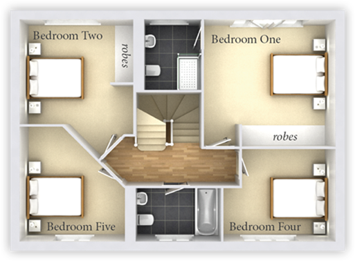 3 Bedroom Plan Half Plot 3 DIY Home Plans Database