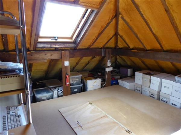 BOARDED LOFT FOR