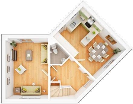 Sherston ground floor plan