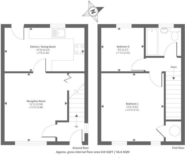 11 Lon Cwm Floorplan