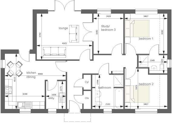 Weybourne floor plan