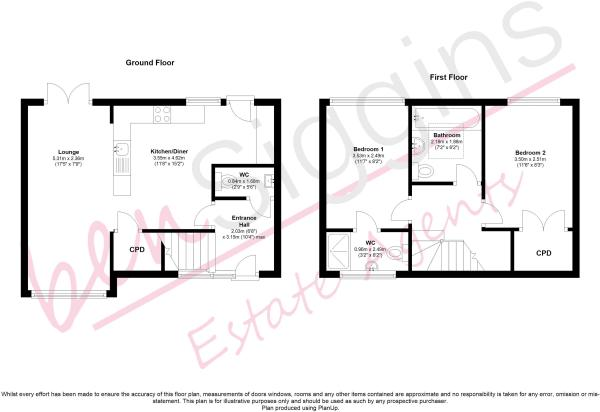 Bluegown Avenue Floorplan