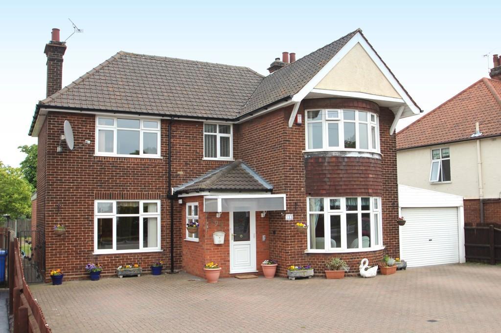 3 bedroom detached house for sale in felixstowe road for Garden rooms ipswich