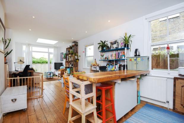 Kitchen and livin...