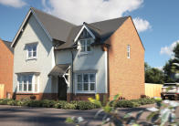 2 bed new home in High Road, Shillington...