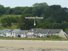 View of Innisfree House from Llansteffan beach.