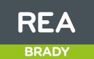 REA, Brady logo