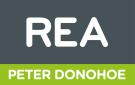 REA, Peter Donohoe Ballyconnell  logo