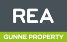 REA, Gunne Property  logo