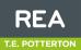 REA, T E Potterton logo