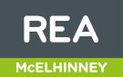 REA, McElhinney Milford logo