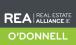 REA, O'Donnell logo