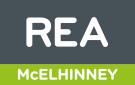 REA, McElhinney Bundoran logo