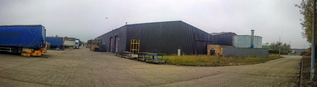 Yard showing access