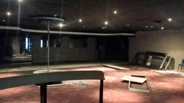 Open plan main room