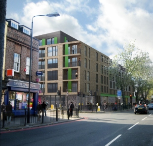 One Fifty Mile End Road by Site Sales, Mile End Road,