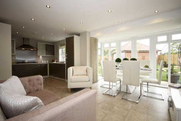 Winstone Kitchen/dining area
