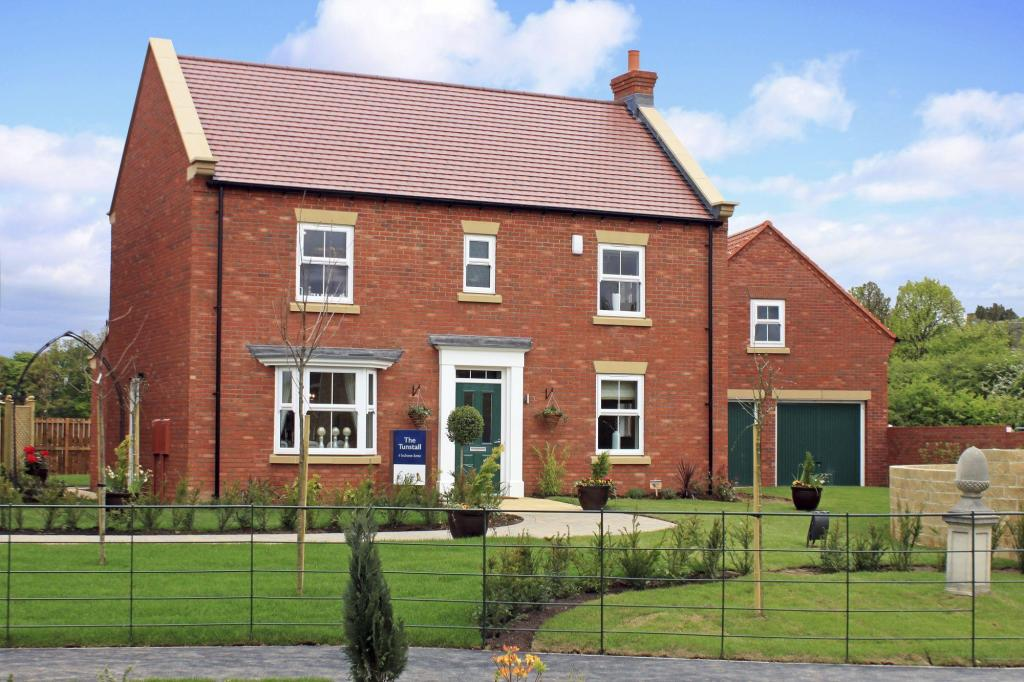 The Tunstall showhome
