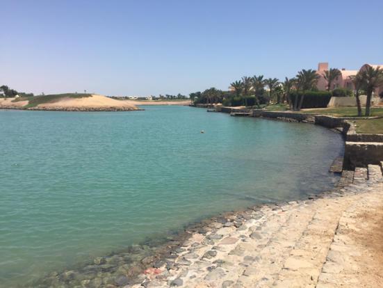 Lagoon & jetty