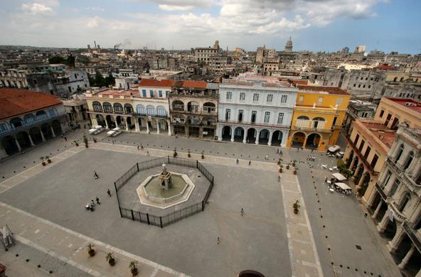 Old plaza