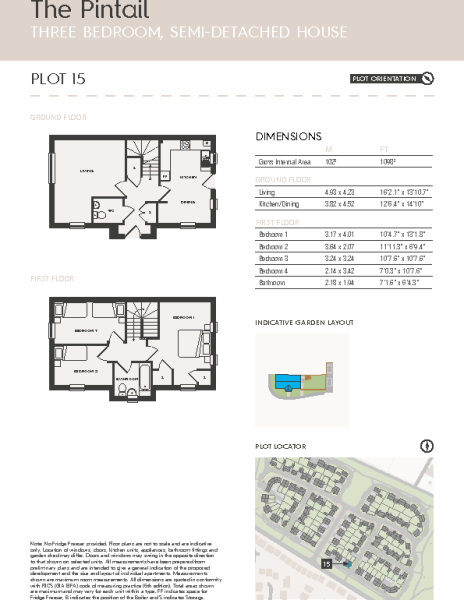 Plot 15 -The Pintail