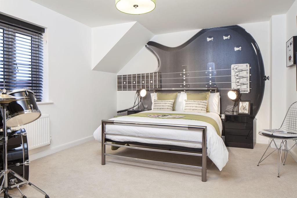 David Wilson Homes,Secondary Bedroom