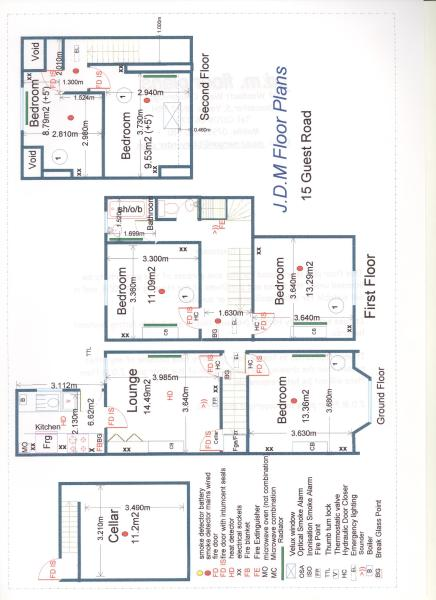 Floor Plan 15 Guest