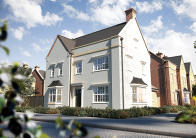 4 bed new property in Taunton Road, Wellington...