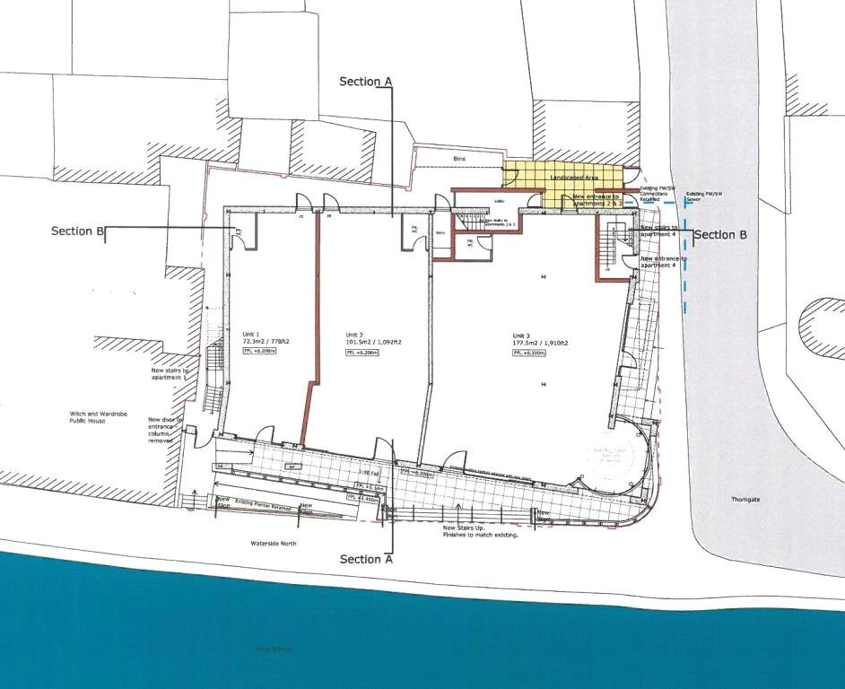 Commercial property for sale in waterside north lincoln Commercial building plans for sale
