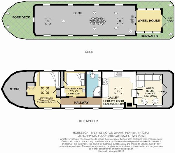Colour Floor Plan