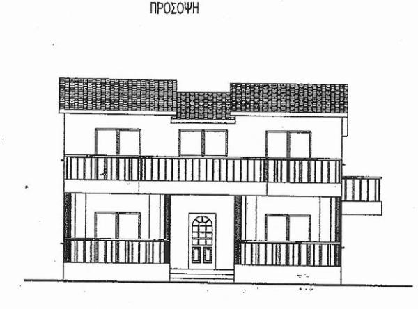 Front of home plan