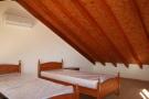 The attic bedroom