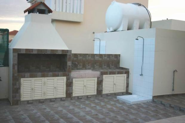 Barbeque area and po