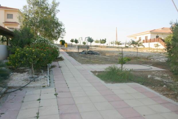 Green area next door