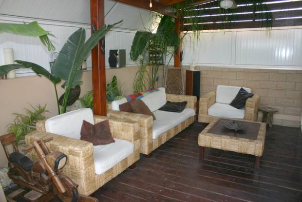 Back veranda
