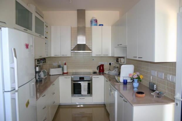 Kitchen of small hou