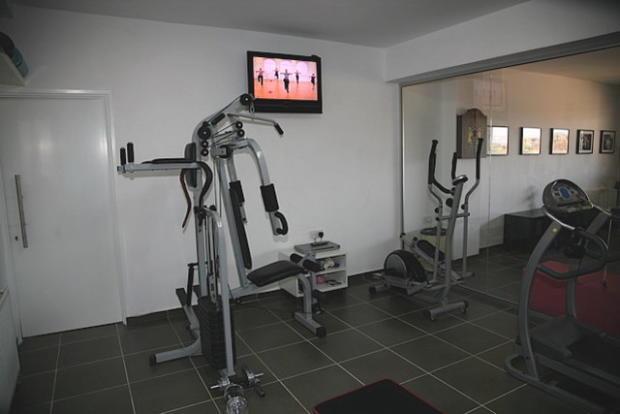 the gym room