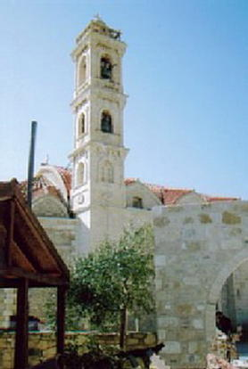 Pervolia church in t
