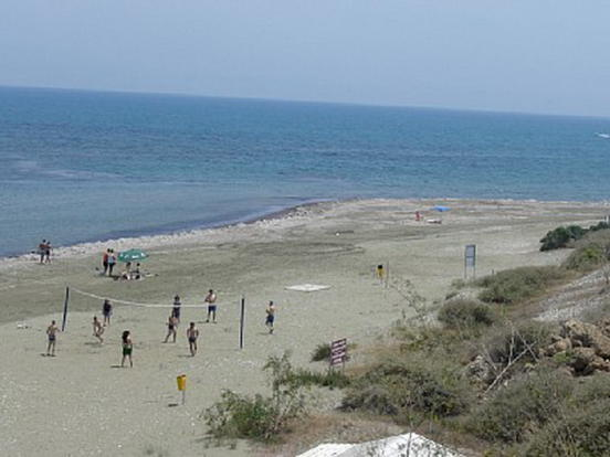 Faros beach at Pervo
