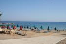 Corallia sandy beach