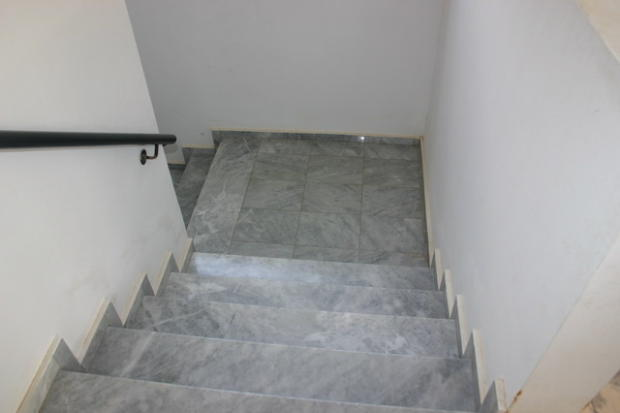 Stairs to communal W